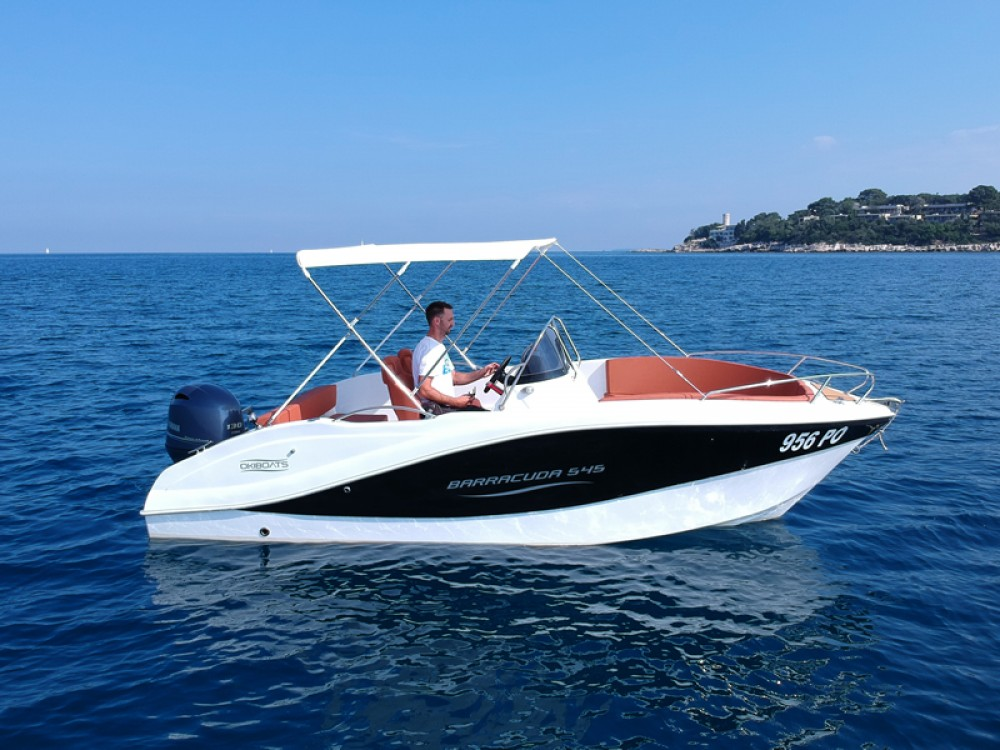 Motor boat for rent Poreč at the best price