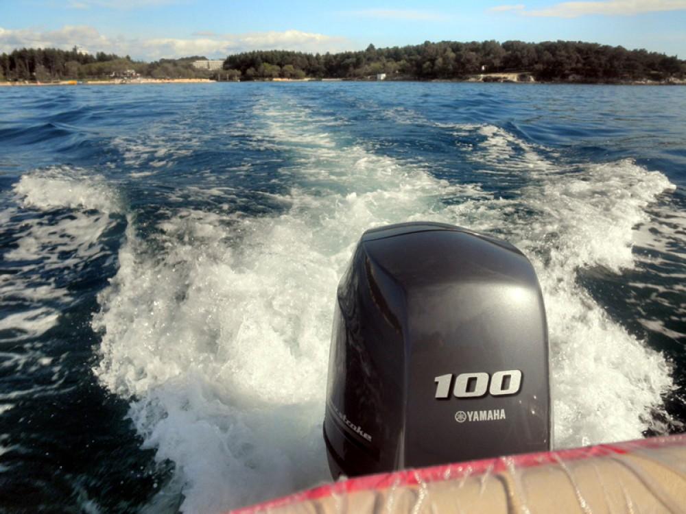 Rental Motor boat in Poreč - Suncy Solarboat 19