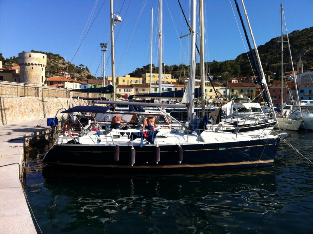 Bénéteau Oceanis 393 Clipper between personal and professional Termini Imerese