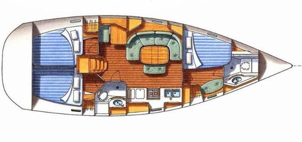 Boat rental Bénéteau Oceanis 393 Clipper in Termini Imerese on Samboat