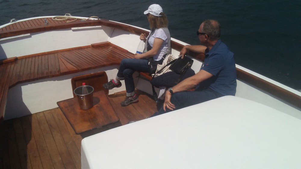 Noleggio Barca a motore Lambro  con un permesso di