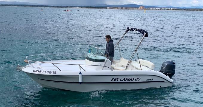 Sessa Marine Key Largo 20 tra personale e professionale l'Estartit