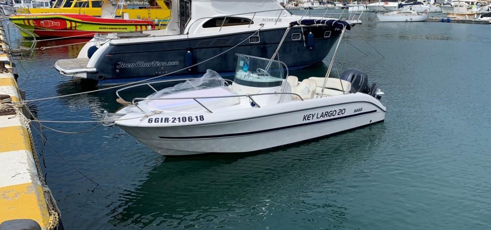 Sessa Marine Key Largo 20 entre particulares y profesional l'Estartit