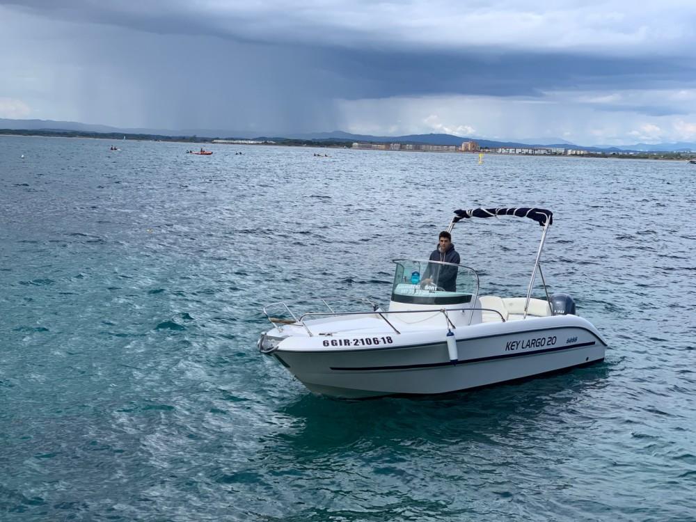 Alquiler Lancha en l'Estartit - Sessa Marine Key Largo 20