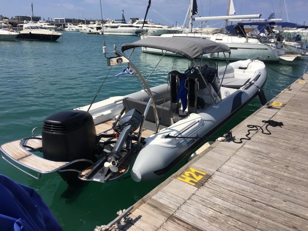 Hire RIB with or without skipper Marvel Anavissos Municipal Unit