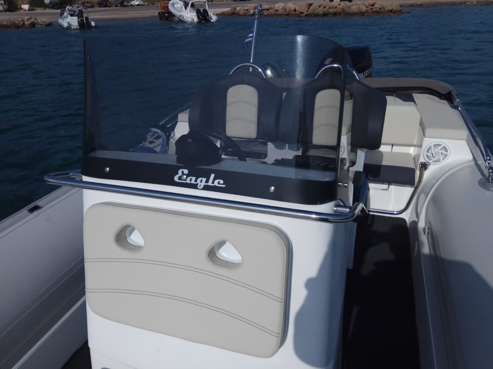 Hire RIB with or without skipper Eagle Anavissos Municipal Unit