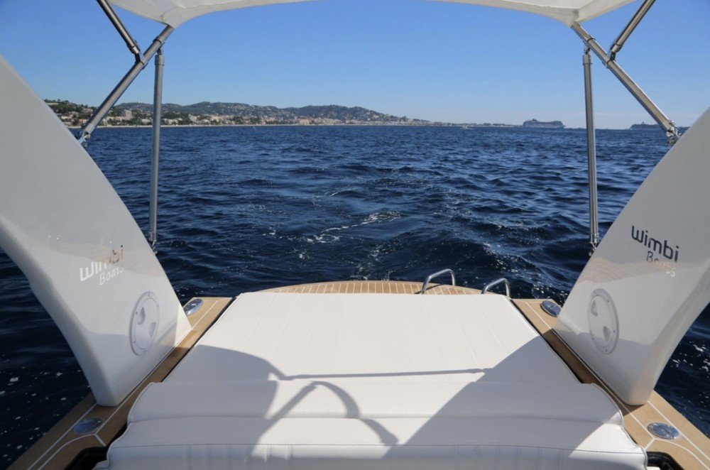 Rental RIB in Port Grimaud - Wimbi Boats W7i