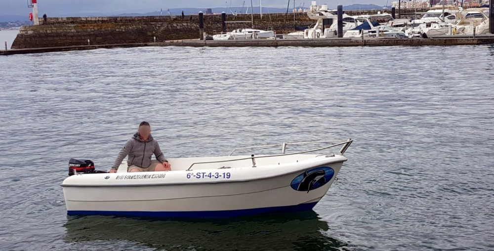 Rental Motor boat Estable with a permit