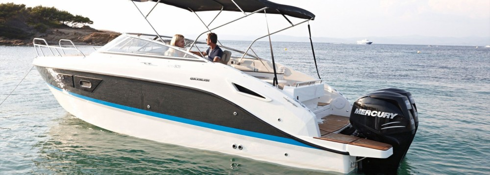 Rental Motor boat in Calvià - Quicksilver Activ 805 Cruiser