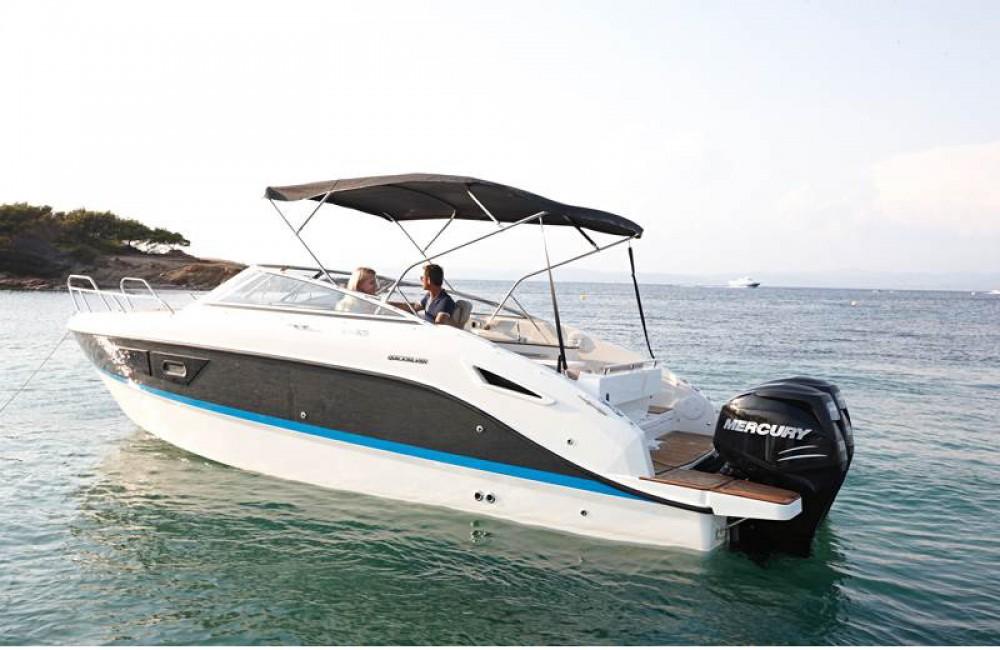 Boat rental Calvià cheap Activ 805 Cruiser