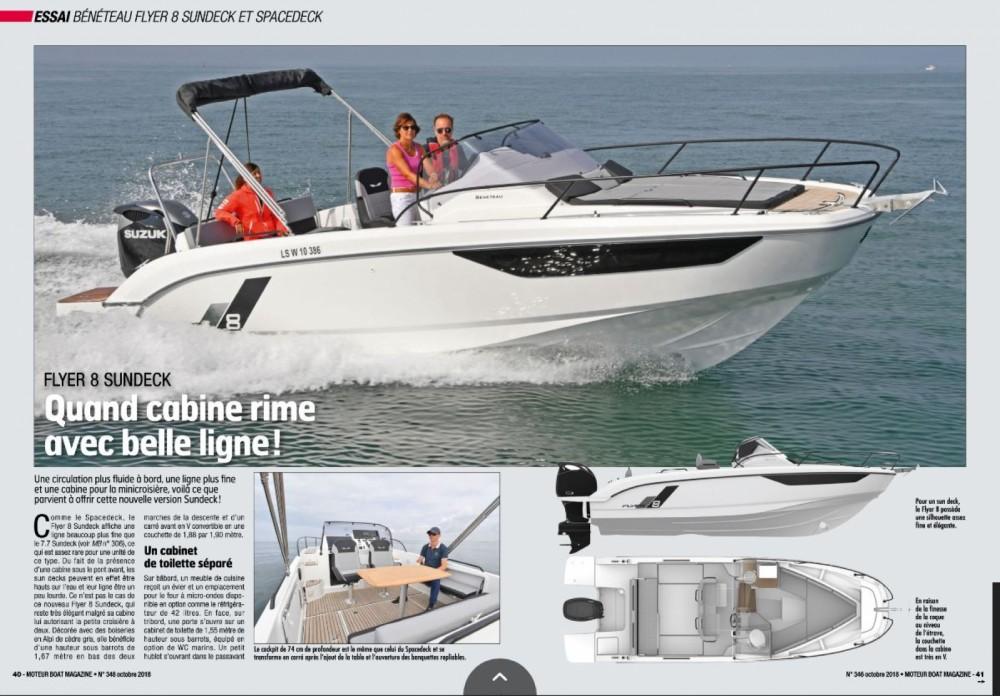 Louer Bateau à moteur avec ou sans skipper Bénéteau à Port Grimaud