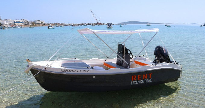 Location Bateau à moteur à Paros - The Sailor's Ride 450