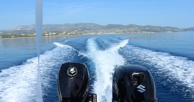 Location Bateau à moteur The Sailor's Ride avec permis