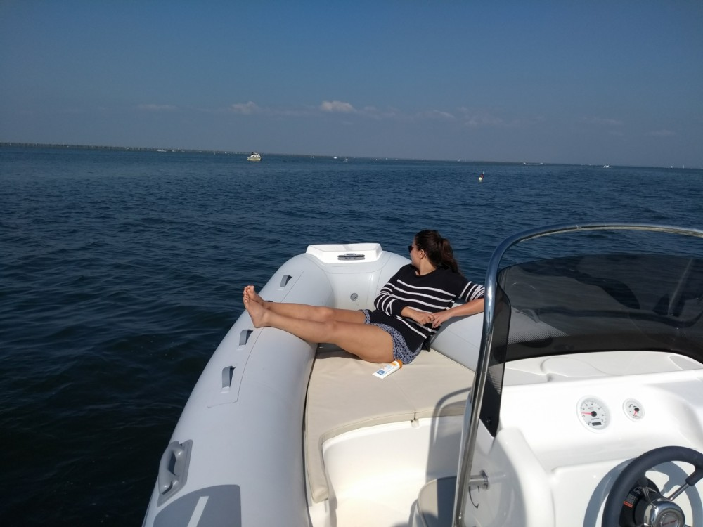 Hire RIB with or without skipper Marsea Lège-Cap-Ferret