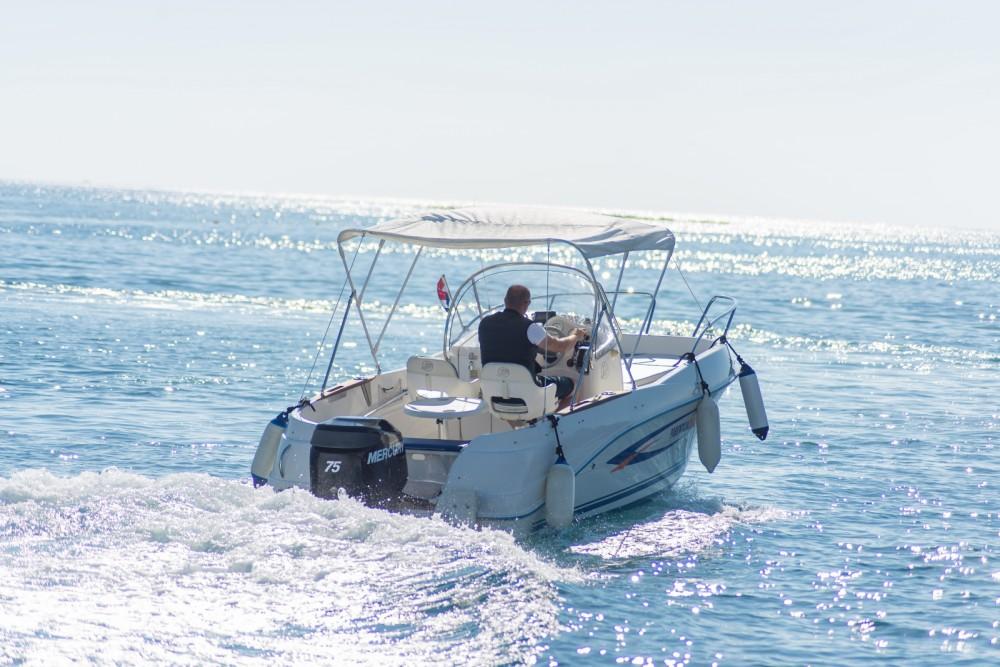 Verhuur Motorboot in Poreč - Quicksilver Quicksilver 525 Flamingo