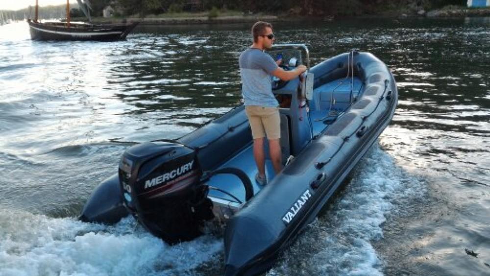 Rental RIB in Le Bono - Valiant DR 520 Fishing