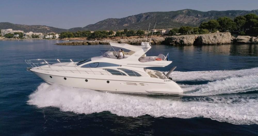 Boat rental Palma cheap Azimut 50 Fly
