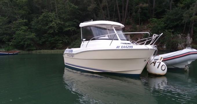 Location bateau PASPORT FISHMATE 530 à Bono sur Samboat
