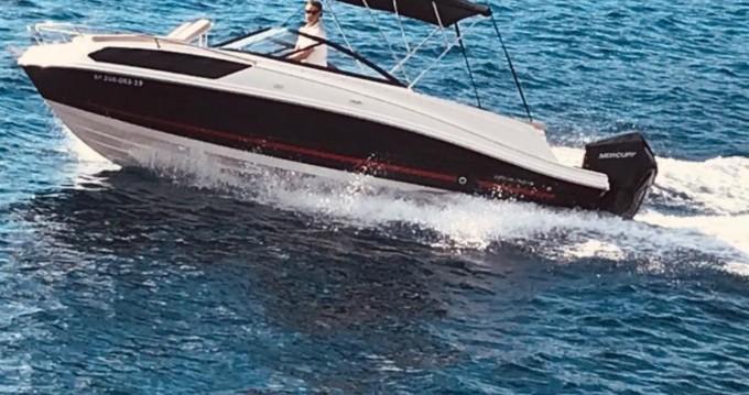 Location bateau Bayliner VR6 caddy à Badia de Santa Ponça sur Samboat