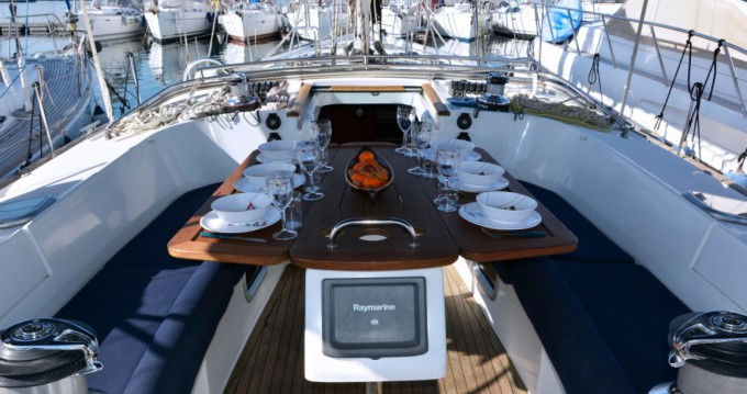 Boat rental Calvi cheap Oceanis 523 Clipper
