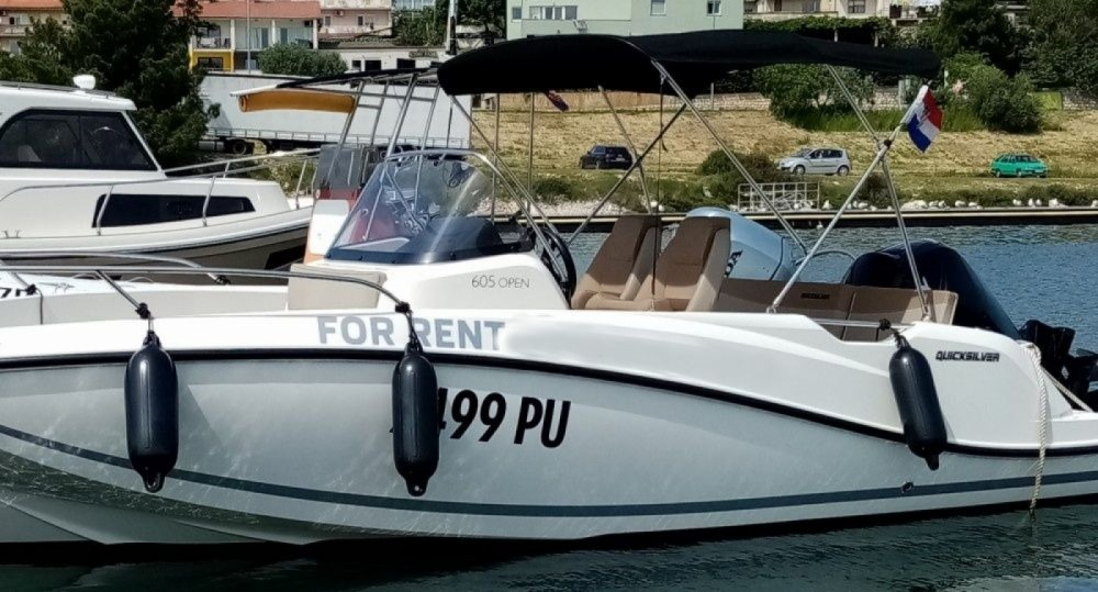 Rental yacht Pula - Quicksilver Active 605 Open on SamBoat