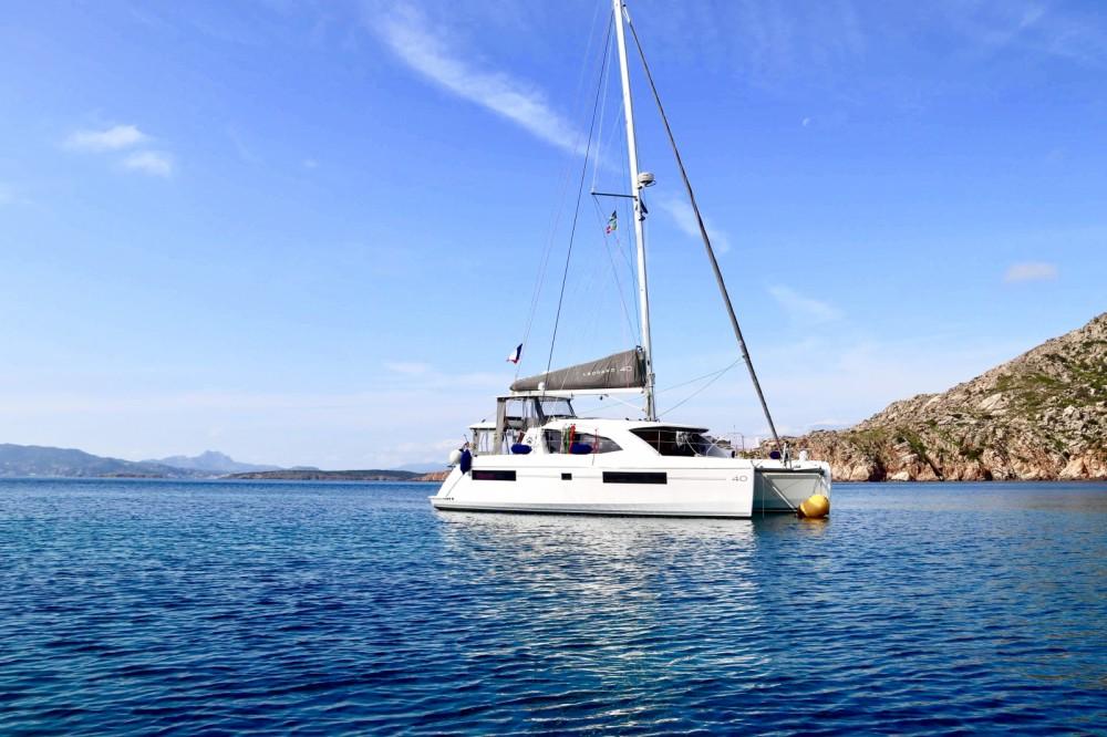 Rental Catamaran in Olbia - Leopard leopard 40