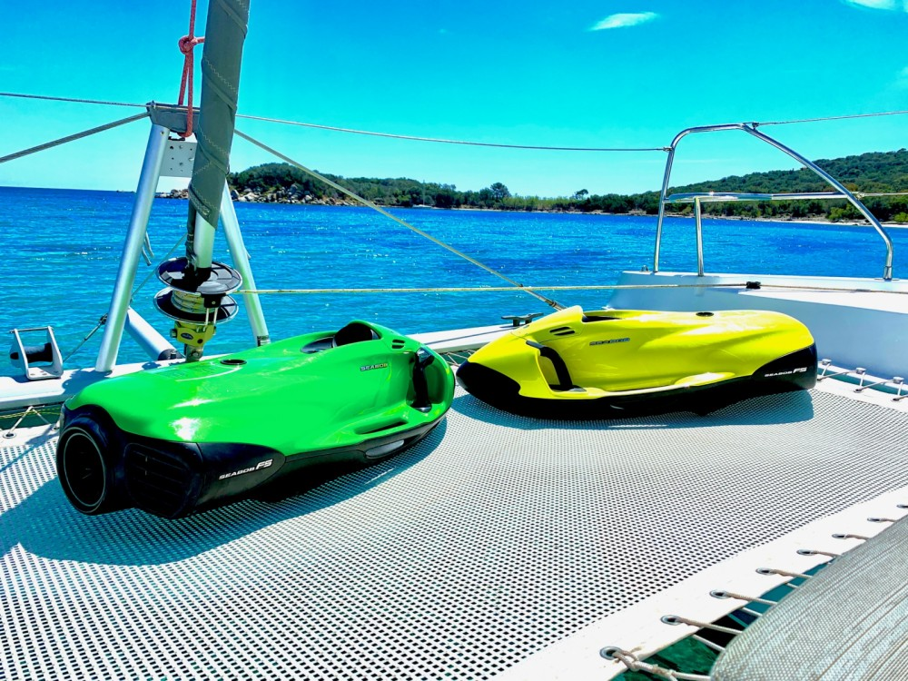 Hire Catamaran with or without skipper Leopard Olbia