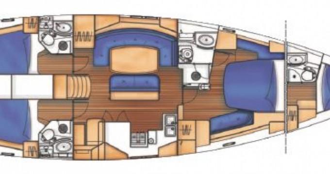 Bénéteau Oceanis 523 Clipper entre particuliers et professionnel à Bonifacio