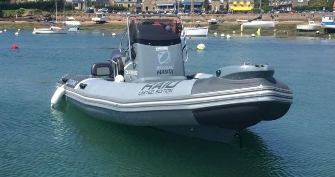 Location bateau Perros-Guirec pas cher Pro Open 550 Raid Edition