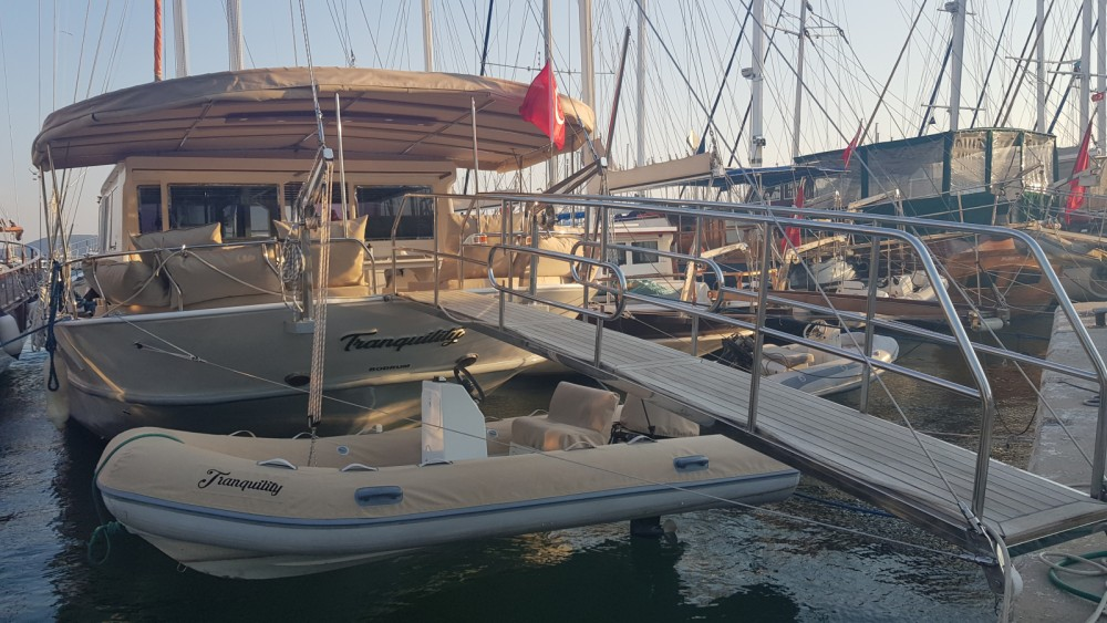 Rental Sailboat Bodrum with a permit