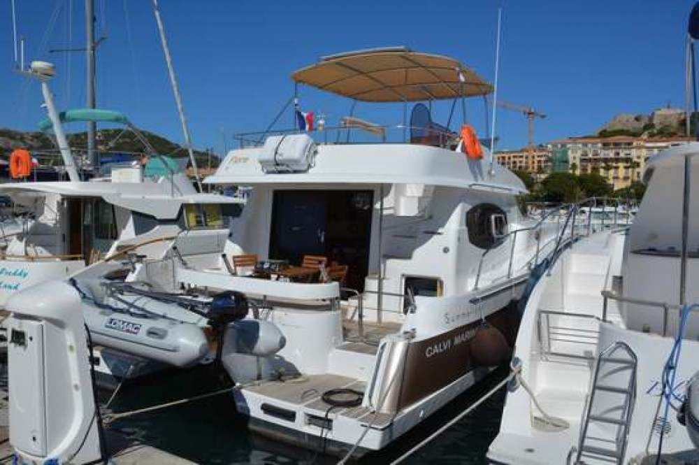 Boat rental Fréjus cheap Summerland 40