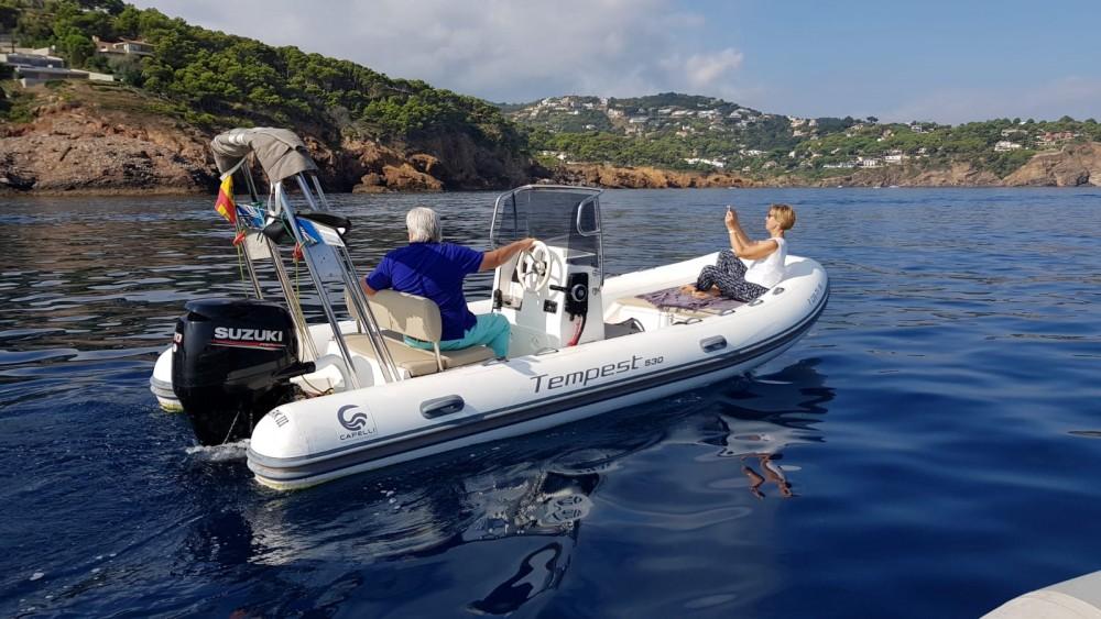 Huur Rubberboot met of zonder schipper Capelli in Palafrugell
