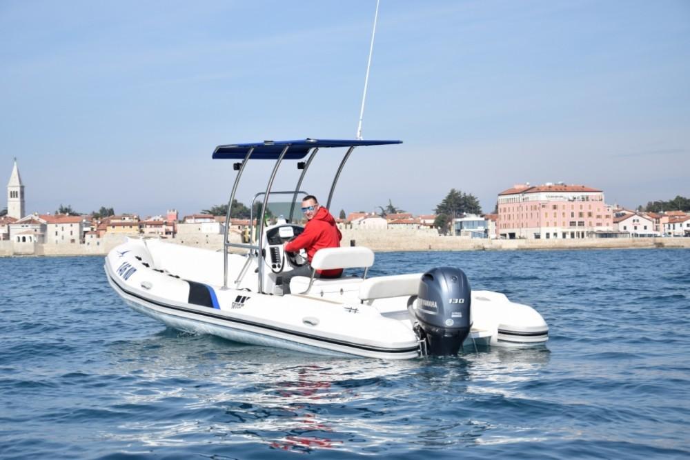 Louer Semi-rigide avec ou sans skipper Tiger-Marine à Novigrad