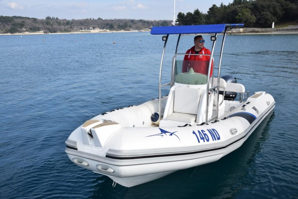Location bateau Novigrad pas cher Dive Master 600