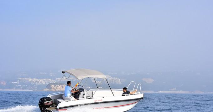 Location bateau Altea pas cher Gasparet 80