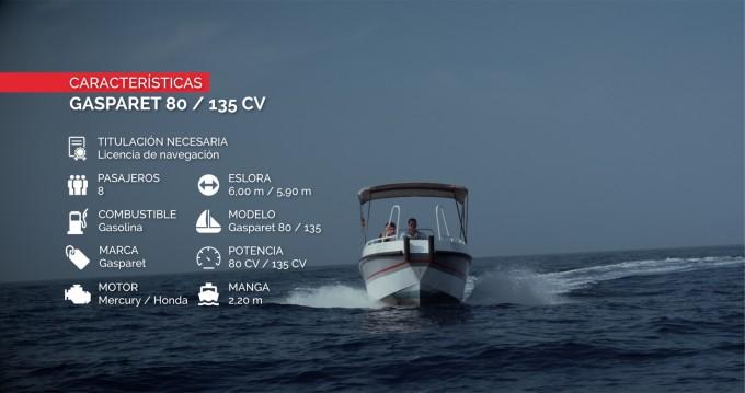 Location yacht à Altea - Gasparet Gasparet 80 sur SamBoat