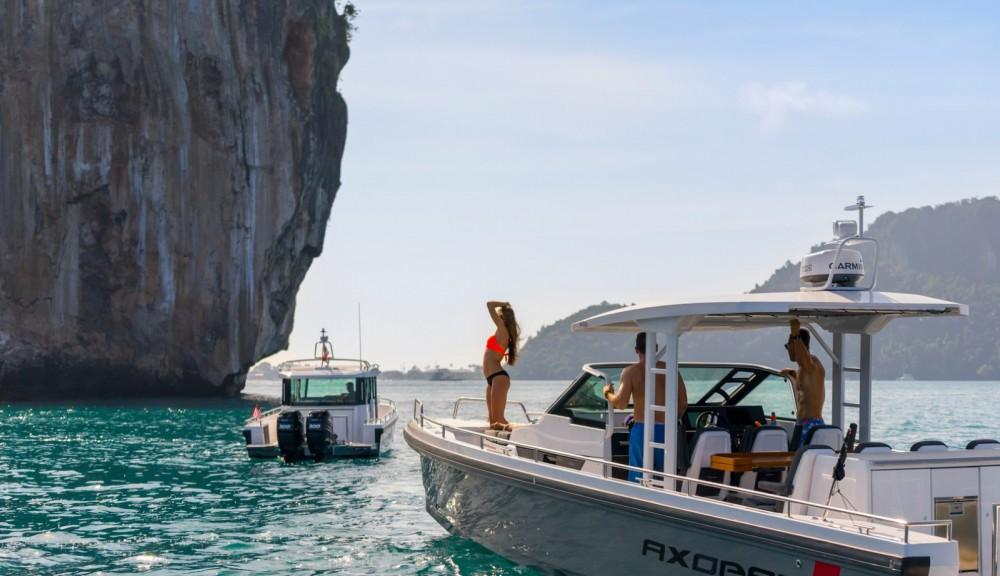 Boat rental Axopar 37 T-Top in Castelló d'Empúries on Samboat