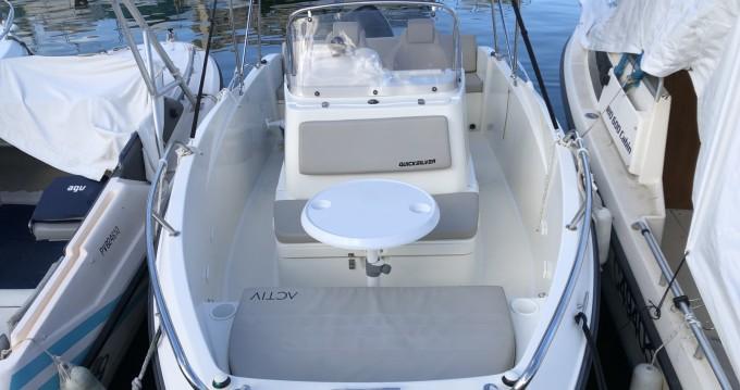 Boat rental Mandelieu-la-Napoule cheap 555