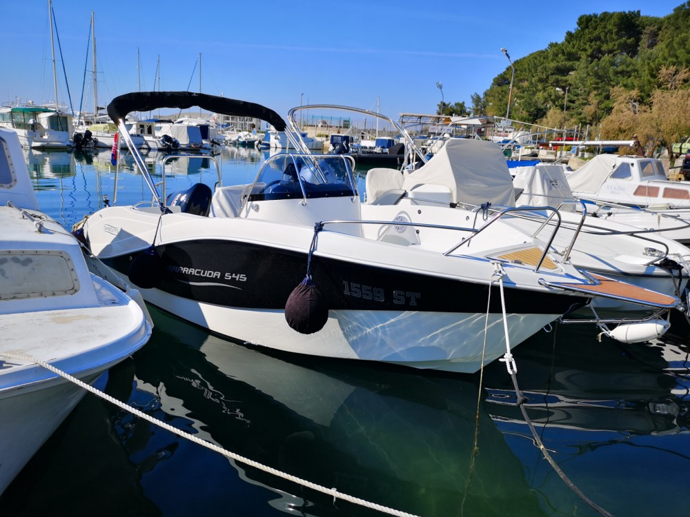 Motorboot mieten in Split - Okiboats Barracuda 545 Open