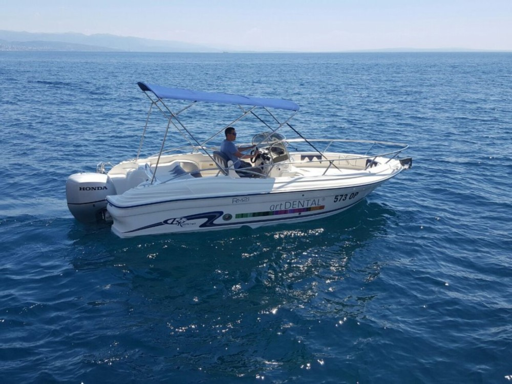 Motor boat for rent Opatija at the best price