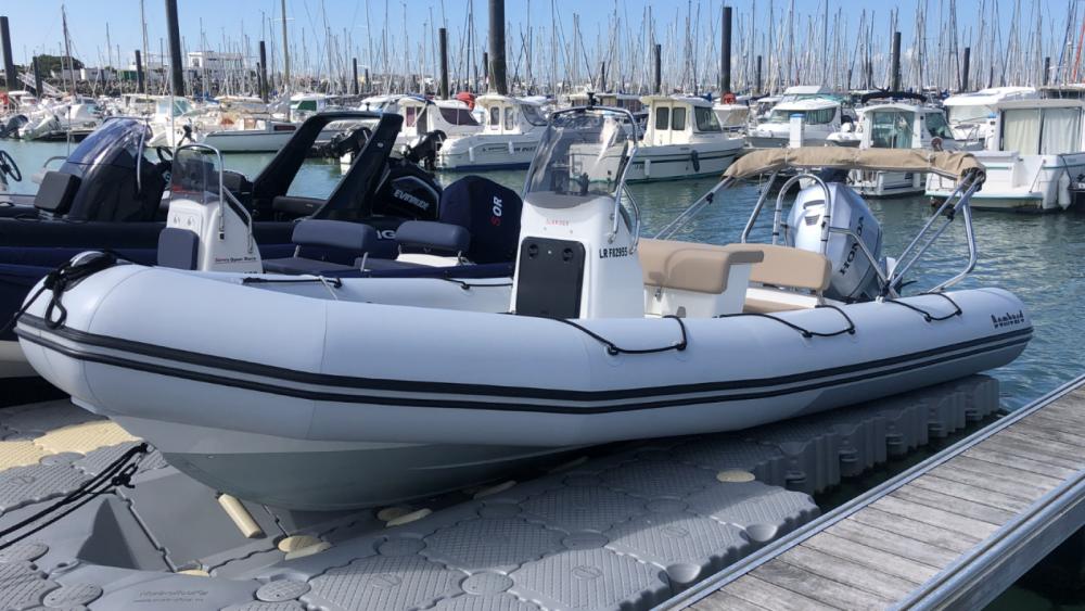 Bombard Sunrider 650 between personal and professional La Rochelle