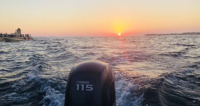 Location bateau Preko pas cher pescosa 5.50
