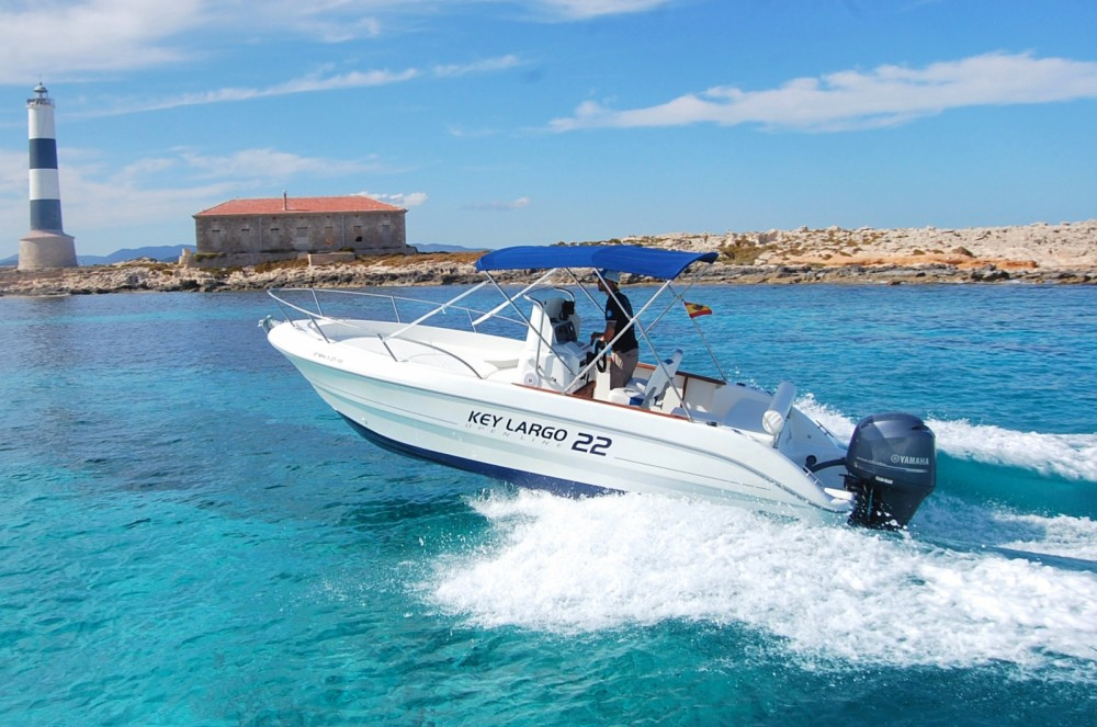 Hire Motor boat with or without skipper Sessa Marine Sant Antoni de Portmany