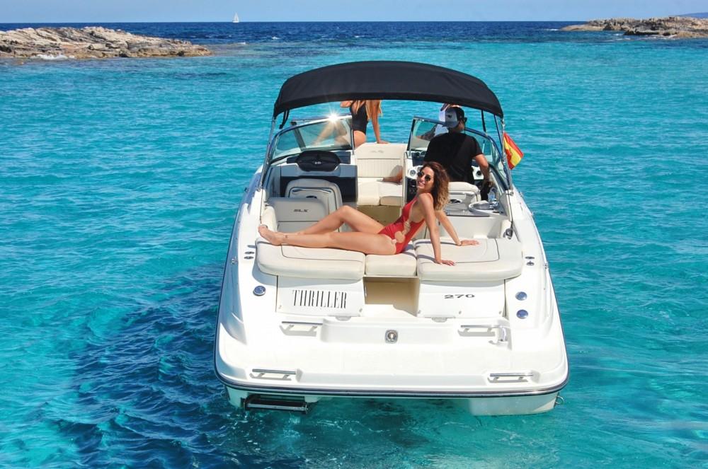 Boat rental Sant Antoni de Portmany cheap 270 SLX