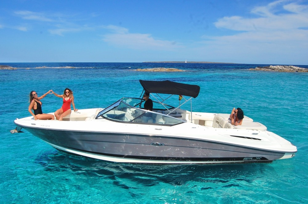 Location bateau Ibiza pas cher 270 SLX