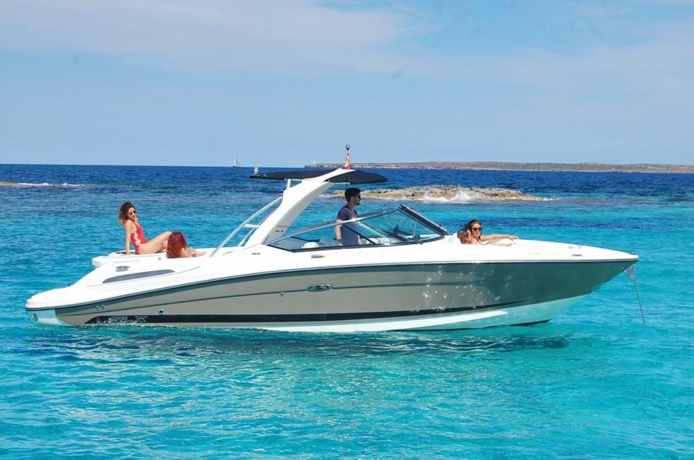 Boat rental Sant Antoni de Portmany cheap Sea Ray 270 SLX BAD