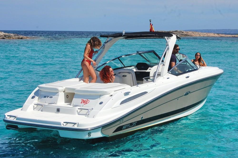 Rent a Sea Ray Sea Ray 270 SLX BAD Sant Antoni de Portmany