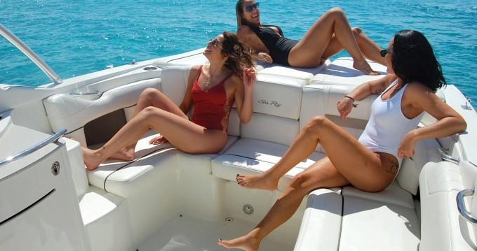 Location yacht à Île d'Ibiza - Sea Ray Sea Ray 270 SLX BAD sur SamBoat