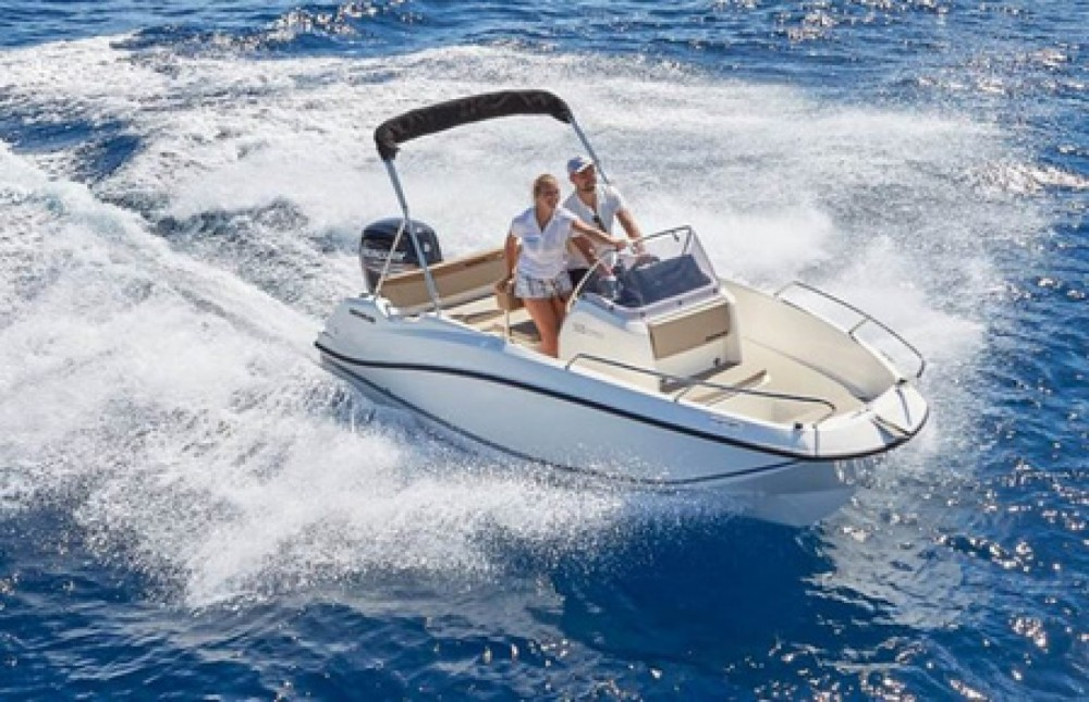 Rent a Quicksilver Activ 505 Open Trogir