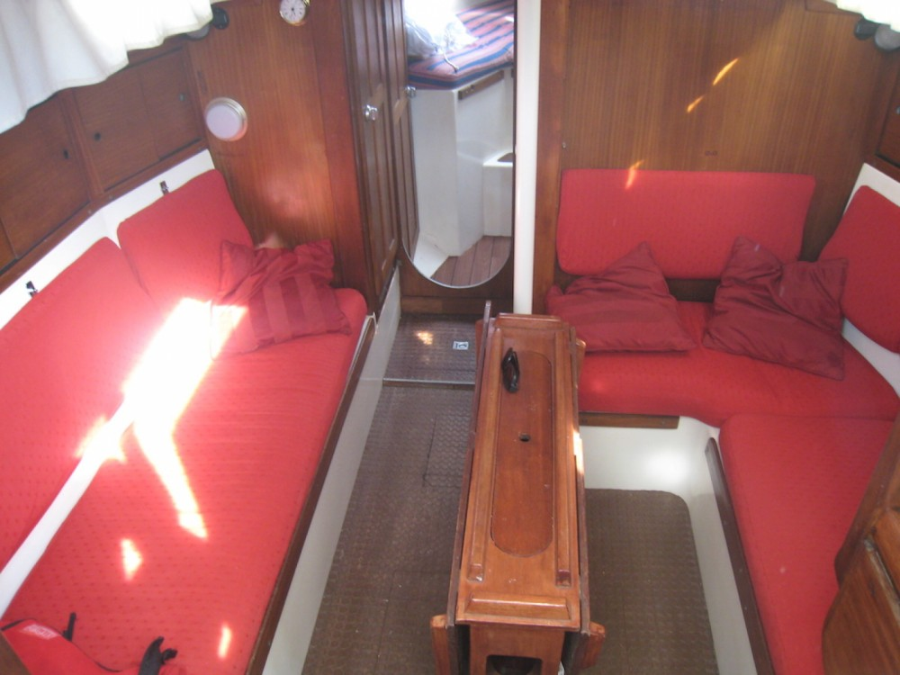 Westerly Conway 36 between personal and professional Palavas-les-Flots